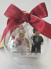 *NEW* Lego CHRISTMAS ORNAMENT WEDDING 2018 Minifig BRIDE & GROOM