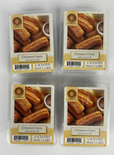 AmbiEscents Cinnamon Churro Scented Holiday Melting Wax Cubes 4 Pack