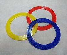 Jonglieren Ø 24 cm 3 Jonglier-Ring Jonglierringe GLITTER in Transparentfarben Jonglieren & Artistik