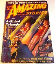 Amazing Stories - US Pulp - November 1939 - Vol.13 No.11 - Temple, Farley