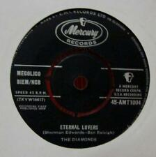 "The Diamonds(7"" Vinyl)Eternal Lovers-Mercury-45-AMT1004-UK-1958-Ex/VG"