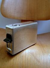 Vintage BRAUN TFG1 Permanent Table Lighter Reinhold Weiss 1960s Rams Silverplate
