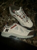 New Balance 645 MW645BR Mens US 9 D Suede Walking Hiking Shoes ABZORB Heel EUC!