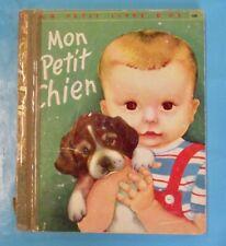 Mon petit Chien  Un petit livre d'or 1955