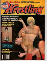 Inside Wrestling Magazine June 1984 Angelo Mosca Jim Cornette Iron Sheik