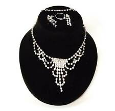 *+*+   NEW CRYSTAL NECKLACE SETS  - EARRINGS * BRACELETS * RING    +*+*