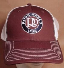 Ross Reels Hat Cap Trucker  Fly Fishing Colorado USA Embroidery New  # brn