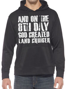 8th Day God Created Land Cruiser Hoodie. All Sizes