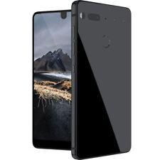 Essential Phone PH-1 128GB 4G Unlocked Full Display Dual Camera Black Moon