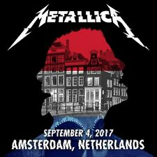METALLICA / World Wired Tour / LIVE / Ziggo Dome, Amsterdam - Sep 04, 2017