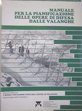 DIPARTIMENTO FORESTE 1983 - PIANIFICAZIONE OPERE DI  DIFESA DALLE VALANGHE - Q8