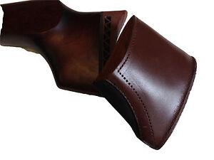 LEATHER GUN BUTT EXTENSION RECOIL FOR SHOTGUN 1 & 2 INCH