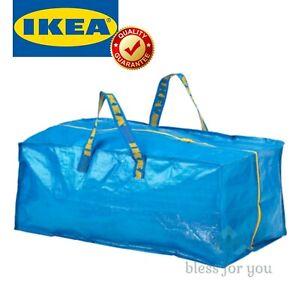 IKEA FRAKTA Storage Bag for Cart Blue 20 Gallon