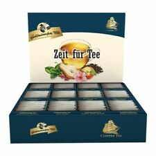 """Goldmännchen-TEE Selektions - Box mit 12 Teesorten """"Zeit für Tee"""" 144 Teebeutel"""