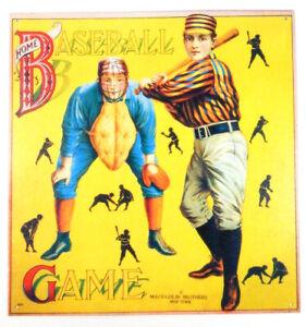 "1993 Desperate Sign Metal 12.5"" x 13"" Vintage Reproduction Baseball Game Sign"