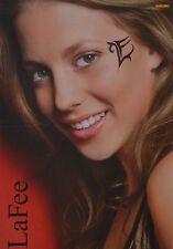 LAFEE - A3 Poster (ca. 42 x 28 cm) - Christina Klein Clippings Fan Sammlung NEU