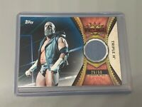 Triple H 2020 Topps WWE Road to Wrestlemania /50 Wrestlemania 35 Used Mat Relic