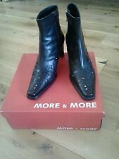 Lady ankle boots More & More 5/5-25301/31 Black 6/39.5