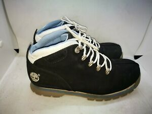 Timberland blue leather ankle boots size 5