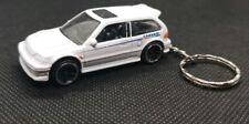 Hotwheels 90 honda civic EF keyring diecast car