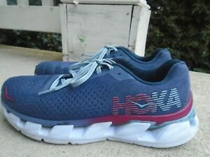 Hoka One One Elevon Running Athletic Shoes Blue Womens Size  9.5