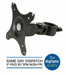 35mm TV Bracket Pole Mount  DJ, Karaoke Suit 17 19 22 24 27 30 INCH