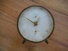 Vintage Retro Kaiser West Germany Alarm Clock Works!