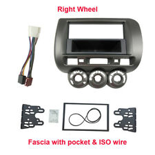 Single 2 Din Fascia Harness for Honda Jazz Fit 2002-2008 facia plate dash kit