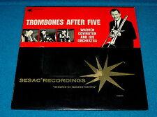 """Sesac : WARREN COVINGTON """"Trombones After Five"""" LP vinyl : N-5201/02 @ Swing"""
