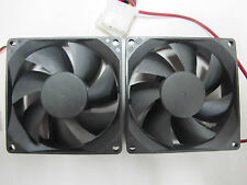 2x Generic 80mm Case Fan - 4pin molex powered           **BEST PRICE**
