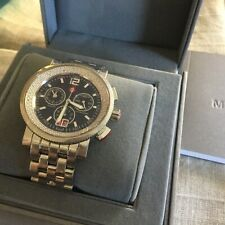 Diamond Michele Watch Chronograph Sport Sail $1950