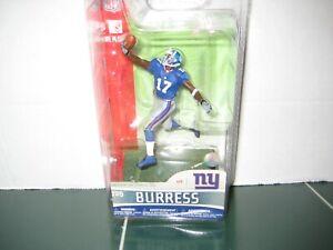 McFarlane Plaxico Burress  3 inch Figure New York Giants