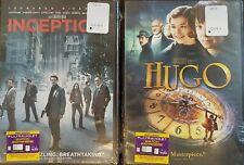 Inception DVD - HUGO DVD (2-pack) New - Sealed