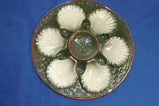 "Vintage 1920-30s Saint Clements 9 1/2"" Oyster Plate  Sm. Edge Chip & Well  Nick"