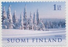 Finland 2006 MNH - Winter Lapland Snow - Issued January 11, 2006