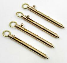 New Creative Portable Handmade Brass Pen Pocket Keychain Ballpoint Pen 1PC