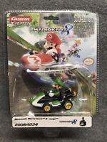 Carrera GO!! 20064034 Nintendo Mario Kart 8 Luigi 1/43 Electric Slot Car NIP
