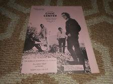 The Doors 1970 Concert Handbill Baltimore Md Jim Morrison Vintage Band Music