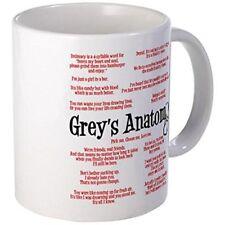11oz mug Grey's Anatomy Quotes - Printed Ceramic Coffee Tea Cup Gift