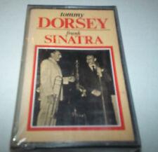 """TOMMY DORSEY & FRANK SINATRA"" CASSETTE 1983 international joker SEALED"