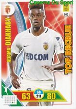 502 ADAMA DIAKHABY AS.MONACO TOP RECRUE CARTE CARD ADRENALYN 2018 PANINI