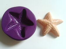 Large STARFISH Silicone Mould 38mm Sugarpaste Fimo Cake Decorate Polymer Clay