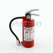 Red Flame Extinguisher Shaped Refillable Butane Gas Cigarette Lighter + LED Gift