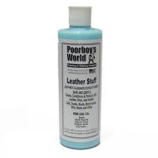 Poorboys Acondicionador Limpiador De Cuero Mundial cosas Protección UV 500ml