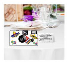 5 Fiesta Disposable Cameras Party Cameras, Fuji film (F58029)