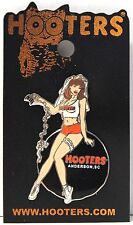 HOOTERS RESTAURANT BACHELORETTE PARTY BALL AND CHAIN GIRL LAPEL PIN ANDERSON,SC