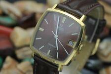 C. 1971 OMEGA Geneve Automatic Cal. 565 Gold Plaque Men's Dress Watch