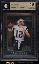 2000 Bowman Chrome Tom Brady ROOKIE RC #236 BGS 9.5 GEM MINT