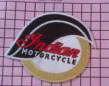 #378 Indian Motorcycles 1901 Biker Racing Iron on embroidered patch