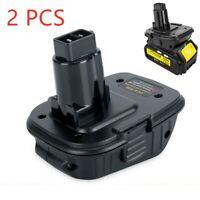 2Pcs DCA1820 Battery Adapter Converter For DEWALT 18Volt to 20V Max Power Tool